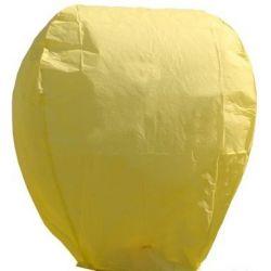 Lampión šťastia-žltý