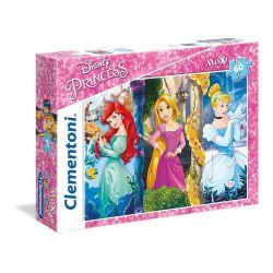 Clementoni puzzle maxi 60 Princezné