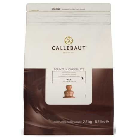 Belgická mliečna čokoláda Callebaut 2,5kg