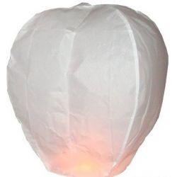 Lampión šťastia-biely