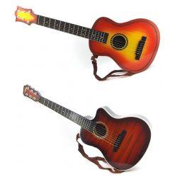 Detská gitara 80cm 2farby - tmavohnedá