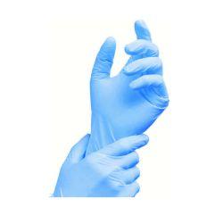 Rukavice nitrilové modré, nepúdrované (veľkosť XS) [100 ks]