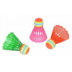 Farebné košíky na badminton 3ks