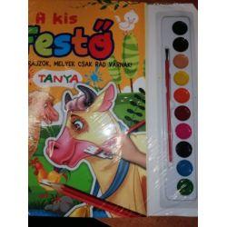 A kis festő - Tanya (Maďarská verzia)