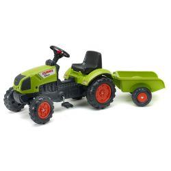 Traktor šliapací zelený