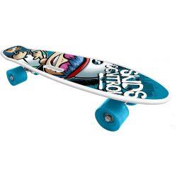 Skateboard Skids Control modro-biely 55x14,5cm