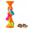 Fat Brain hrkálka Pipsquiz Loops oranžové