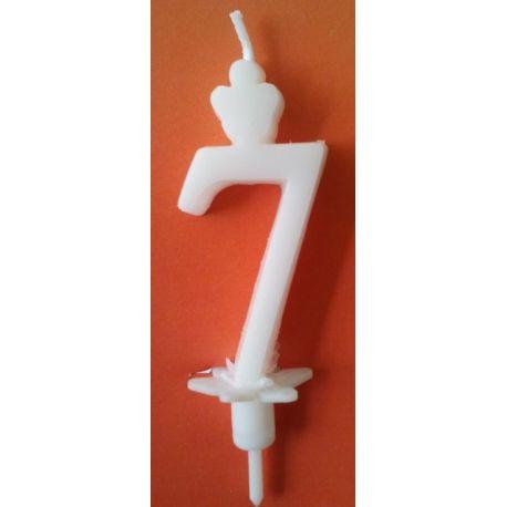 Sviečka veľké číslo 7